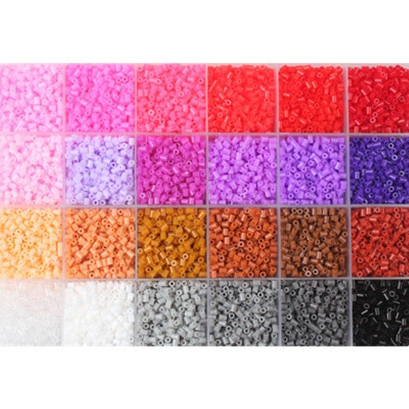 72 couleurs 72000 pièces 2.6mm Hama Perles 3D Puzzle jouets pour enfants Juguetes enfants jouets éducatifs Perler Perles de Hama - 4
