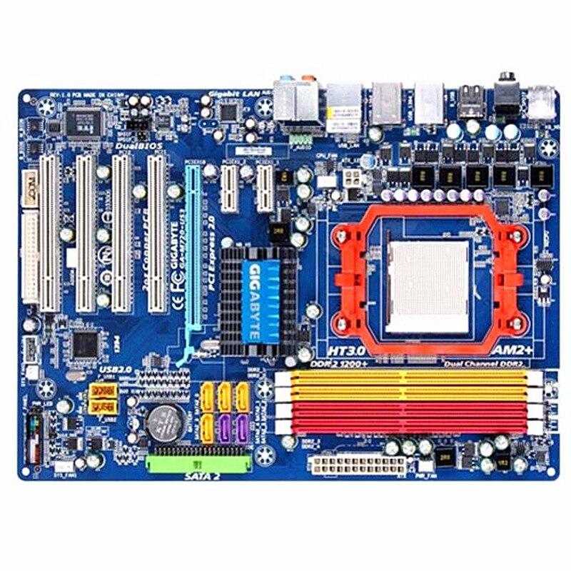 Original for Gigabyte GA M720 US3 M720 US3 DDR2 Socket AM2 M720 motherboard