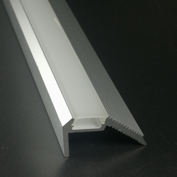 2meter/piece,Stair Step Aluminum Profile For Led Stripes Step Nosing  Aluminium Led Housing