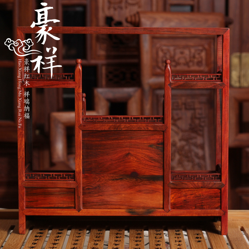 Red wood miniature furniture mahogany cabinet mahogany tea Rosewood jade ornaments factory wholesale base jackson x series dinky arch top dkaf7 ms dark rosewood stained mahogany