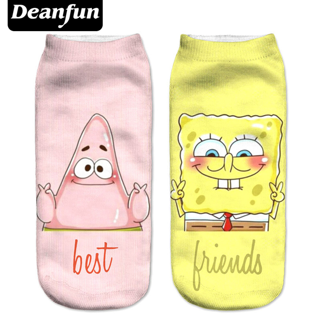 Skarpetki Damskie Best Friends Spongebob