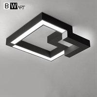 BWART современный 3D структура светодио дный потолочный светильник в помещении светодио дный потолочный светильник творческий для личности и