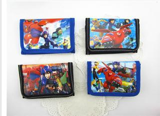 12Pcs Big Hero 6 Baymax Tomago Coin Purse Cute Kids Cartoon Wallet Bag Pouch Children Purse Small Wallet Party Birthday Gift
