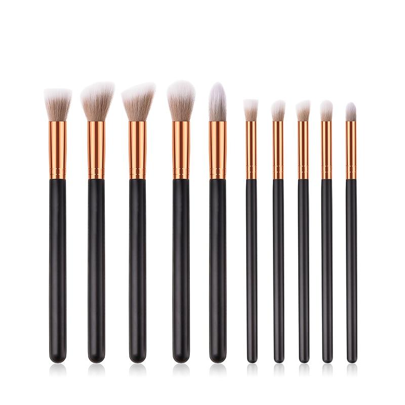 8-16 шт. набор кистей для макияжа Тени для век и бровей пудра Blending Brush карандаш Профессиональный макияж полный косметика