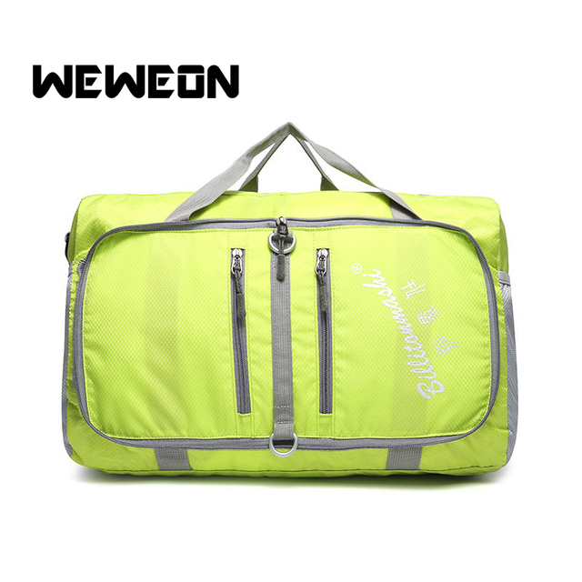 9070c0e623aa Large Capacity Lightweight Foldable Sports Duffle Bag Water Resistant Extra  Large Travel Gym Bag Ultra Light Packable Gym Tote