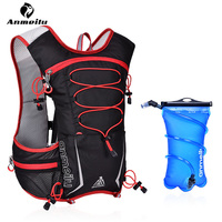 Anmeilu 5L Running Backpack Waterproof Sports Bag Outdoor Trail Running Gym Bag Hydration Vest Mochila Pack Fitness Accessories