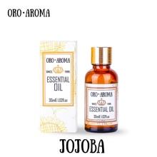 Famous brand oroaroma free shipping pure natural aromatherapy Jojoba essential oil Skin Hair care bath maintenance