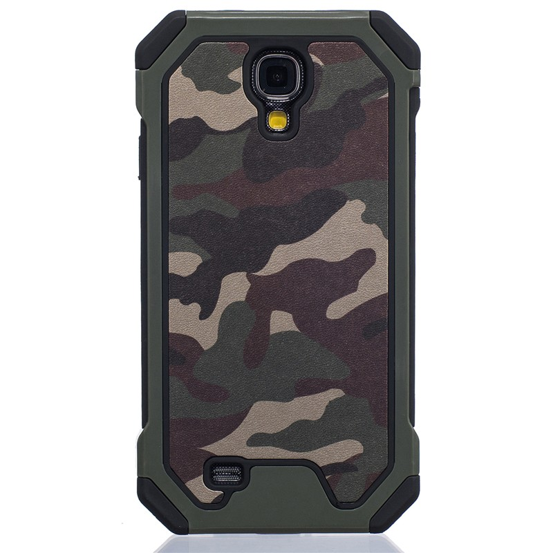 Rubber-Case Phone-Cover I9505 Camouflage Samsung S4 For Galaxy I337