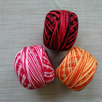 Made in China thick hand knitting yarn for knitting sweaters etc 4 popular colors in stock