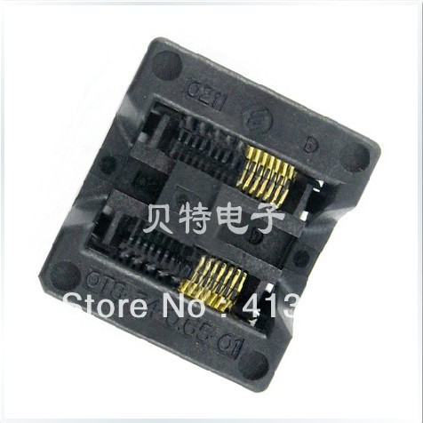 Valley (OTS-14) -0.65-01 programming adapter SSOP14 test IC socket import ots 28 0 65 01 burning seat tssop28 test programming