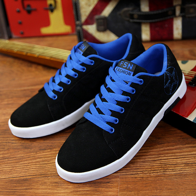 2019 spring and autumn new breathable men 39 s casual shoes sneakers comfortable breathable shock absorption wear shoes in Men 39 s Casual Shoes from Shoes