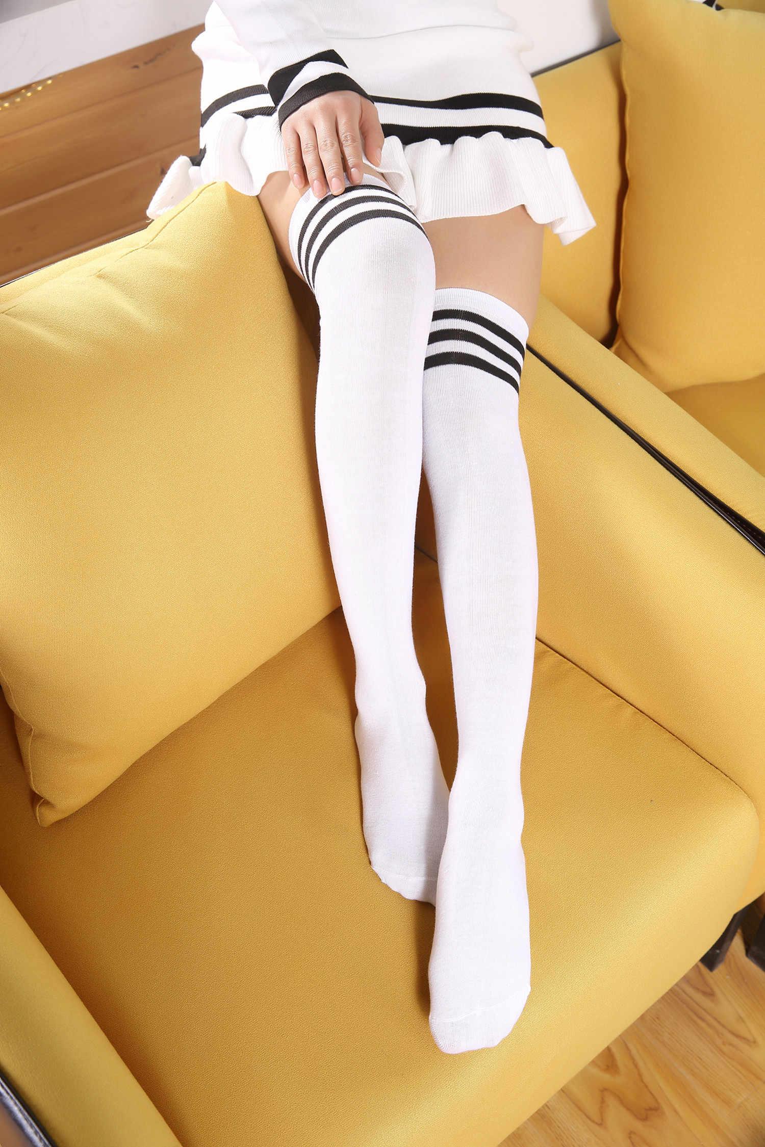 เซ็กซี่ถุงเท้าถุงเท้ายาวผู้หญิงยาวถุงน่อง WARM ต้นขาสูงถุงเท้าสำหรับสุภาพสตรีใหม่แฟชั่นถุงเท้าเข่าผู้หญิง