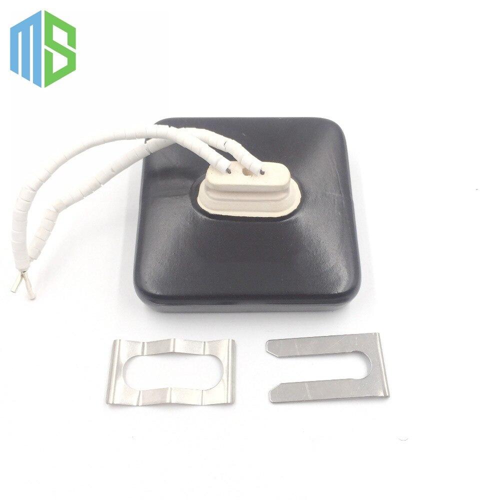 Ir 100x100mm Flat Black White Infrared Top Ceramic Heater