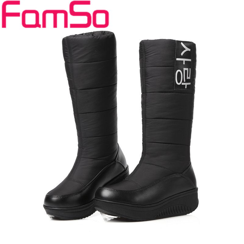 Free shipping 2016 New Arrival font b Women b font Russia and Australia Outdoor Snow Boots
