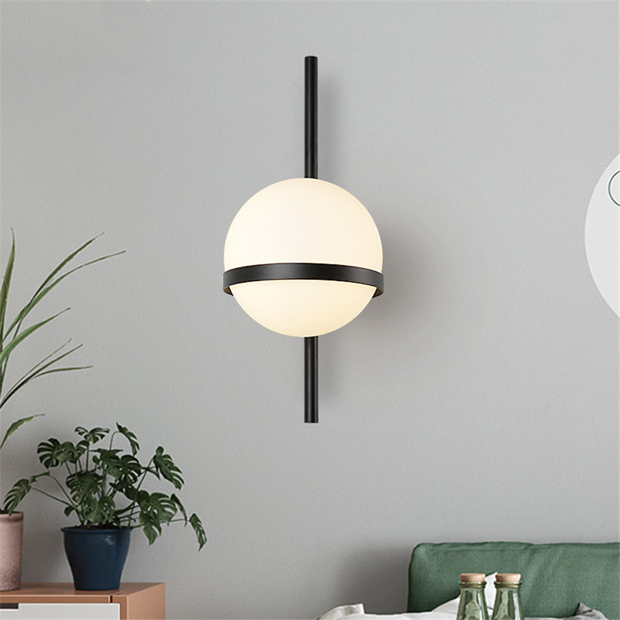 BEIAIDI Nordic Art Decor Led Wall Lamp Luxury Gold Porch Wall Light Stair Aisle Corridor Background Sconce Bedroom Bedside Lamp