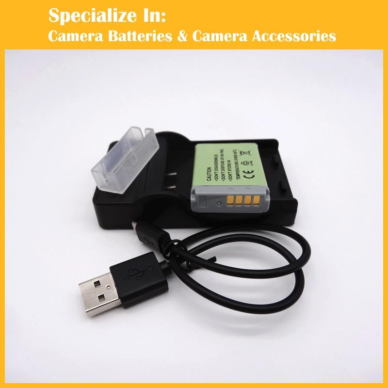 1x NB-13L battery + 1x charger for Canon PowerShot G5 X G5X G7 X G7X G9 X G9X