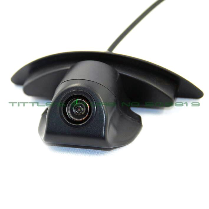 Color CCD Vehicle logo Front view font b camera b font for Nissan X Trail Tiida
