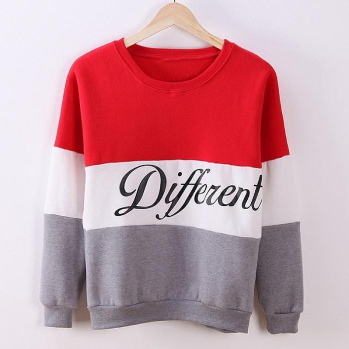 Women Sweatshirt And Ladies Love Printed Casual Pullovers Girls Long Sleeve Spring And Autumn Plus SizeTY66 8