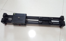Dslr cámara de vídeo deslizante rail dolly 50 cm pista estabilizador 100 cm distancia de deslizamiento para canon nikon sony photo studio accesorios