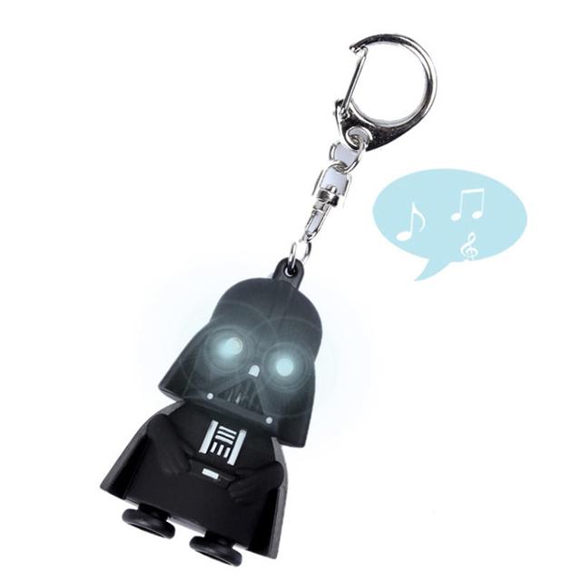 Star Wars Black Knight Darth Vader Storm Trooper Led Light Action Figures