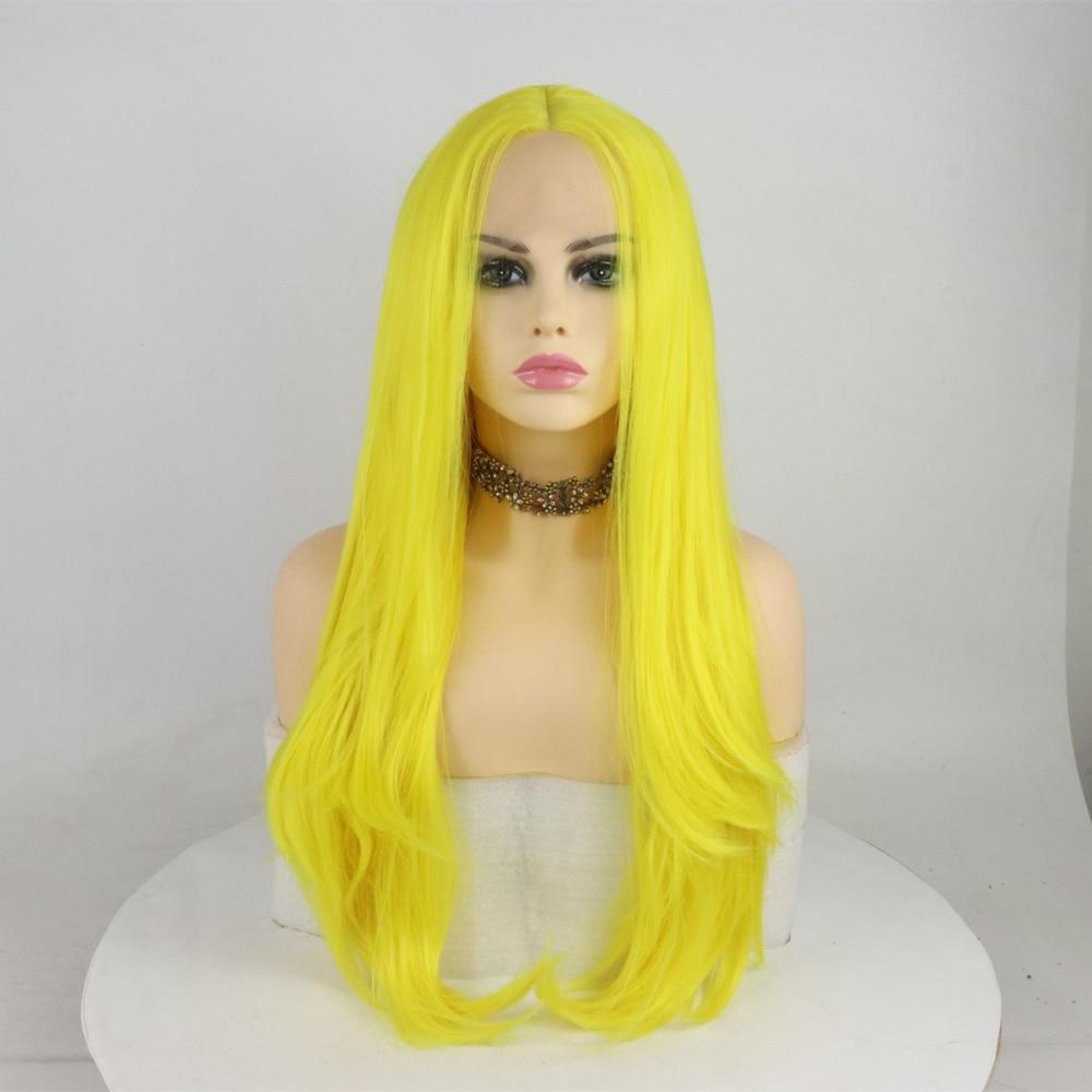 Marquesha Realistic Looking Yellow Straight Natural