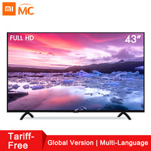 Xiao mi Smart 4A 43 дюйм(ов) mi светодио дный LED Full HD Android tv 8,0 4A 108 см Ultimate PatchWall 1 ГБ 8 ГБ ультра-светодио дный яркий светодиодный дисплей телевизор(China)