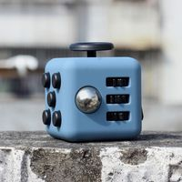Mini Fidget Cube Toy Vinyl Desk Finger Toys Squeeze Fun Stress Reliever 3cm High Quality Antistress Stress Cube Toys