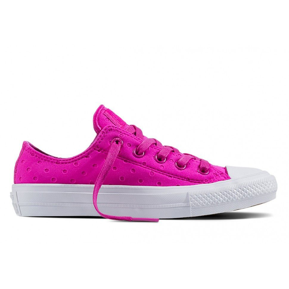Walking Shoes CONVERSE Chuck Taylor All Star II 555804 sneakers for female TmallFS kedsFS new converse chuck taylor all star ii low men women s sneakers canvas shoes classic pure color skateboarding shoes 150149c
