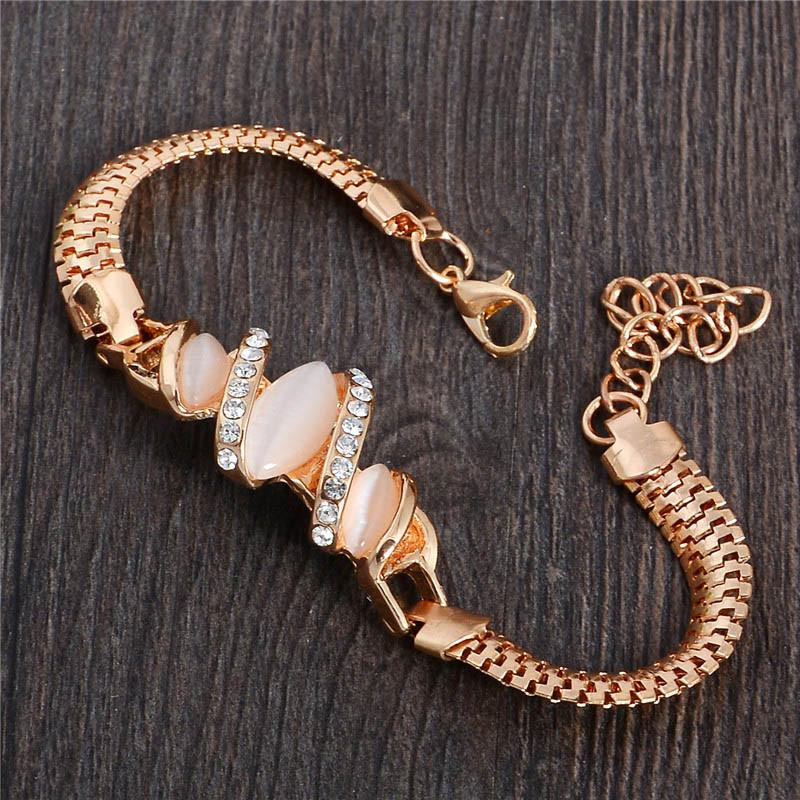 Austria Crystal Cat Eye Bracelet
