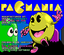 Pac Mania Game Cartridge Newest 16 bit Game Card For Sega Mega Drive / Genesis System