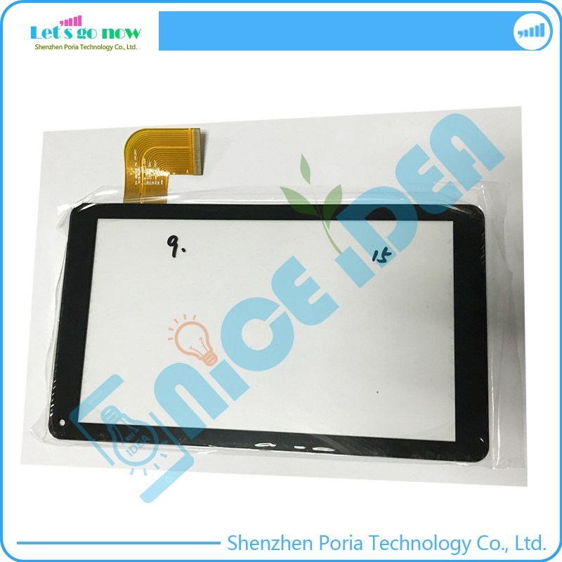 100% New 9'' Inch Touch Screen Digitizer For DH-0920A5-PG-FPC203 <font><b>RX18</b></font>*TX27 Black Front Tablet Touch Panel Glass replacement image