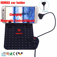 Remax Universal two head cable car phone holder main1,