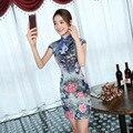 Traditional Chinese Clothing 2016 Cheongsam Dress Short Paragraph Slim Dress New Luxury Chinese Dress Cheongsam