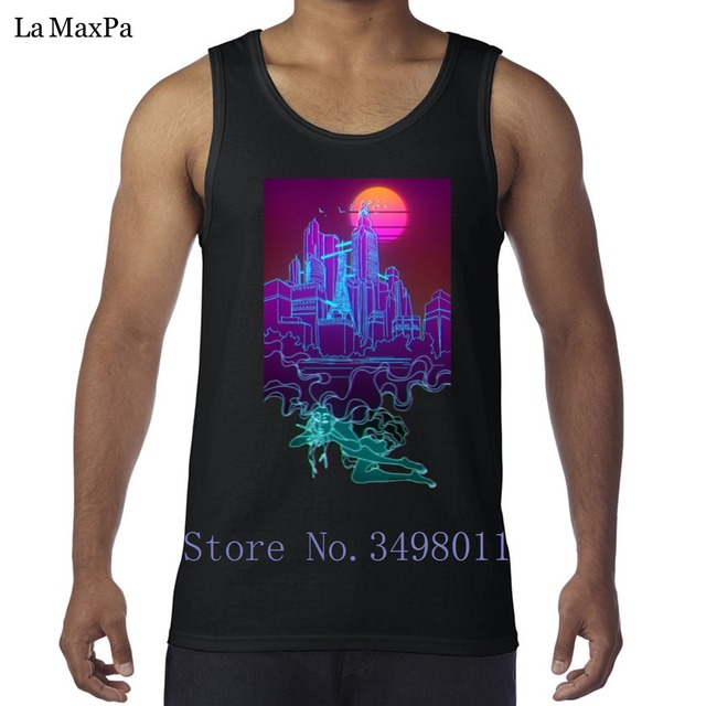 597c9b3c0dcbc6 Custom Letter Dream City man Tank tops Bodybuilding Super Vest for men  Sleeveless Clothing awesome sportswear Round Collar