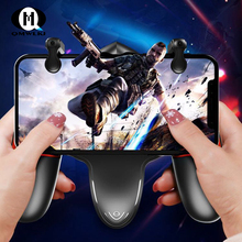 For PUBG Mobile Game Gamepad Continuous Click Handle Controller with Cooling Fan Phone Gaming Console Joystick