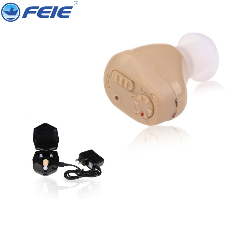 2PCS Hot Selling Convenient Ear Amplifier Rechargeable S 219 Free Shipping