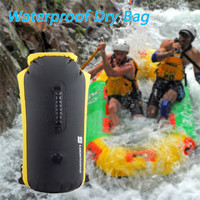 Able Inflatable Waterproof Dry Bag Roll Top Dry Compression Sack Keeps Gear Dry Drifting Shoulder Swimming storage Bag 60L #2