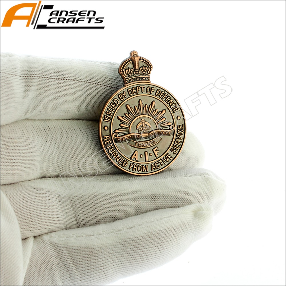 Air Force Ground Combat Badge Fr. Australia. Pin