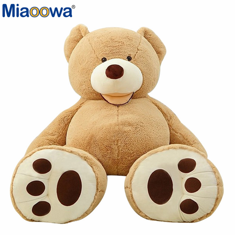 1pc Selling Toy Big Size 200cm American Giant Bear Skin ,Teddy Bear Coat ,Good Quality Factary Price Soft Toys For Girls travel passport holder women girl pasport cover beautiful case for passport travel organizer passport covers for passports