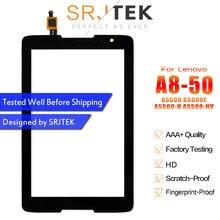 SRJTEK для Lenovo IdeaTab A8-50 A5500 A5500F A5500-H сенсорный экран панель дигитайзер сенсорный стеклянный планшет запасные части
