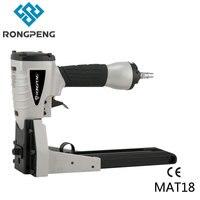 RONGPENG оптовая продажа воздушный гвоздер MTA18 картонная коробка закрывающий степлер промышленный рычаг с 34,8 мм закрывающие скобы для картонно...