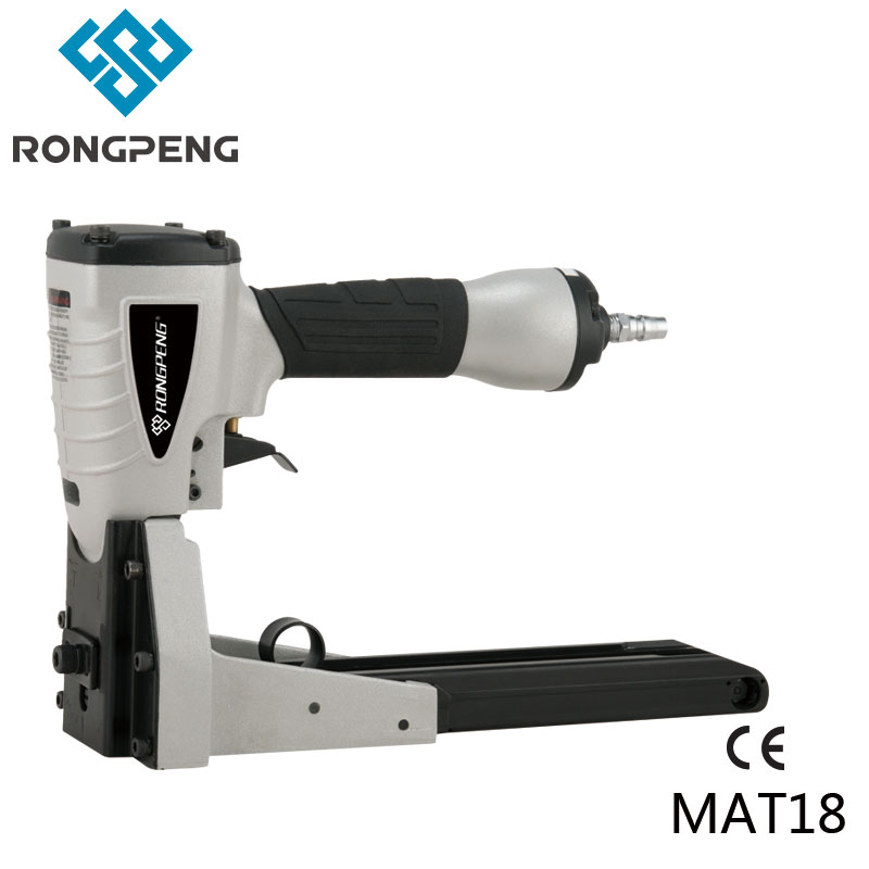 RONGPENG SPECIALITY AIR NAILER MTA18 CARTON BOX CLOSING STAPLER C SERIES NAILS PROFESSIONAL PNEUMATIC TOOL rongpeng professional brad nailer gun f50b with quick clear nose ga 18 f nails pneumatic tools