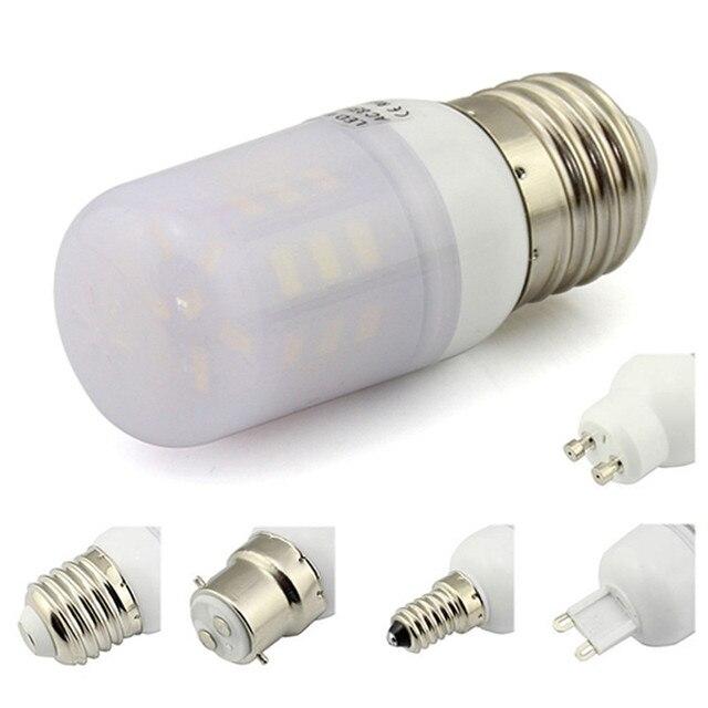 e27 led bulb 3w milky cover 27 leds e14 b22 led boatrv light