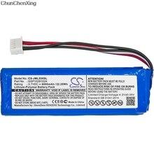 Аккумулятор Cameron Sino 6000 мАч GSP1029102A(CS-JML330SL) для JBL Charge 3, пожалуйста, дважды проверьте место 2 красных и 2 черных проводов