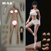 Collectible SEXY TBLeague PHMB2018-T01 14.8cm 1/12 Super-Flexible Female Suntan/pale Skin Seamless Body with Head Clothes Model