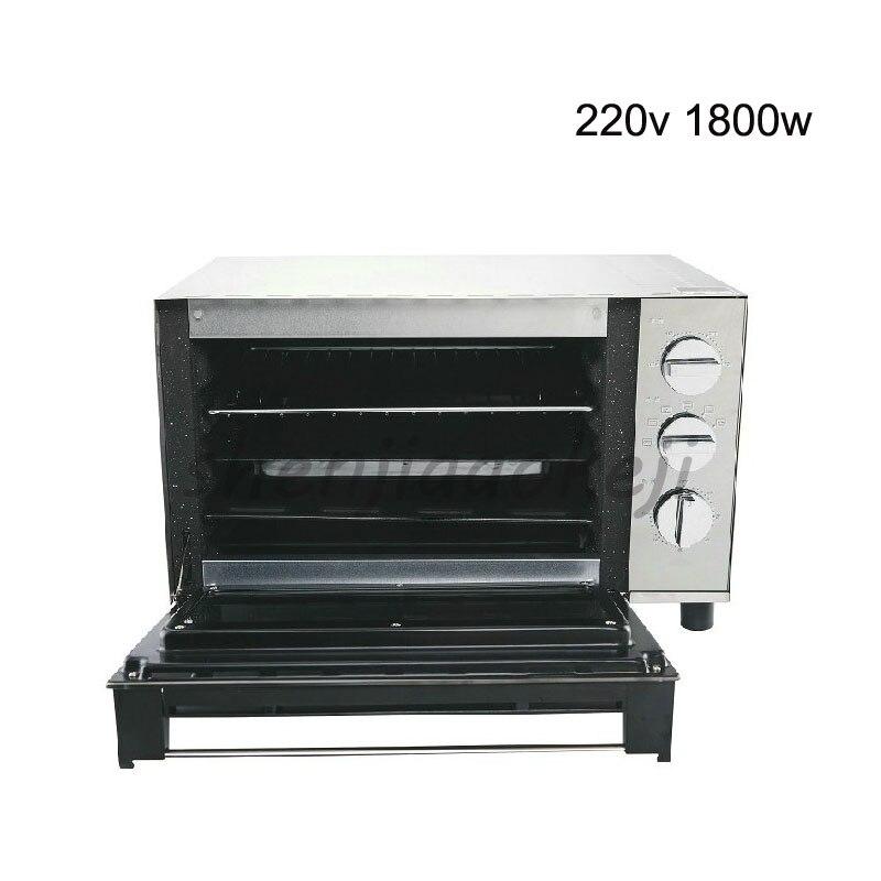 Four électrique en acier inoxydable 23L, Tortillas, ailes de poulet cuites au four, four domestique 220 V 1800 w