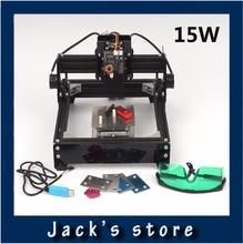 15W laser AS 5 15000MW diy laser engraving machine metal engrave marking machine metal carving machine