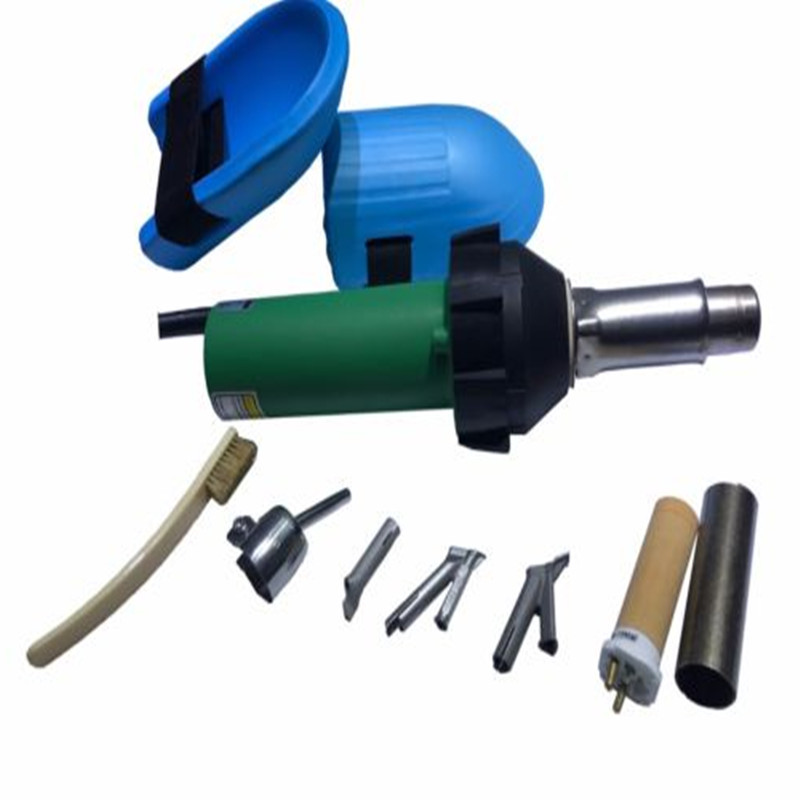 110V Vinyl Floor Overlap Hot Blast Torch hot air welder gun Flooring welding tools heat gun Accessories for PP PVC HDPE