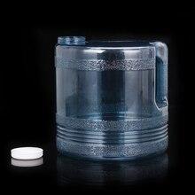 Tanque de agua de botella de plástico de 4L para destilador de agua, cartucho, máquina de agua destilada, purificador, filtro de agua