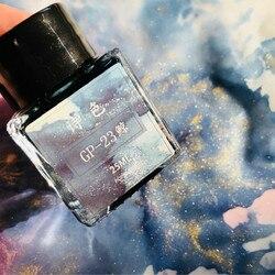 POEZIE GP serie 24 kleuren die goud poeder kleur inkt Glas pen kan gebruik 25ml